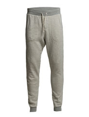Home Alone worker slim fit sweat pant - 970 grey melange