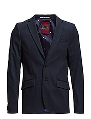 Simple indigo blazer in rich twill - 51 indigo