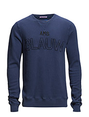 Amsterdams Blauw brand sweat - 57 navy
