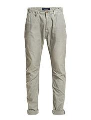 Theon Chino- Garment Dye - 12 SALT GREY