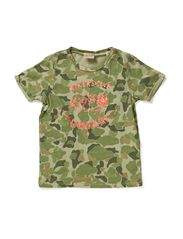 Shortsleeve tee in special quality - 83 camouflage