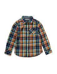 Checked Shirt - dessin A