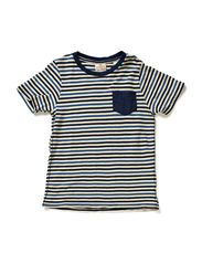 Short Sleeve Tee with chest pocket - dessin A