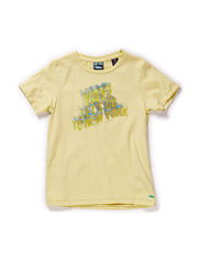 Tee with vintage feel artworks - 14 lemon