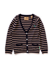 Basic cardigan with embroidery detail - dessin B