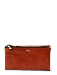 SDLR wallet/Leah - Midbrown