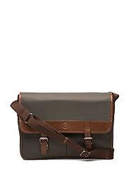 SDLR Bag Male - GREEN/MIDBROWN