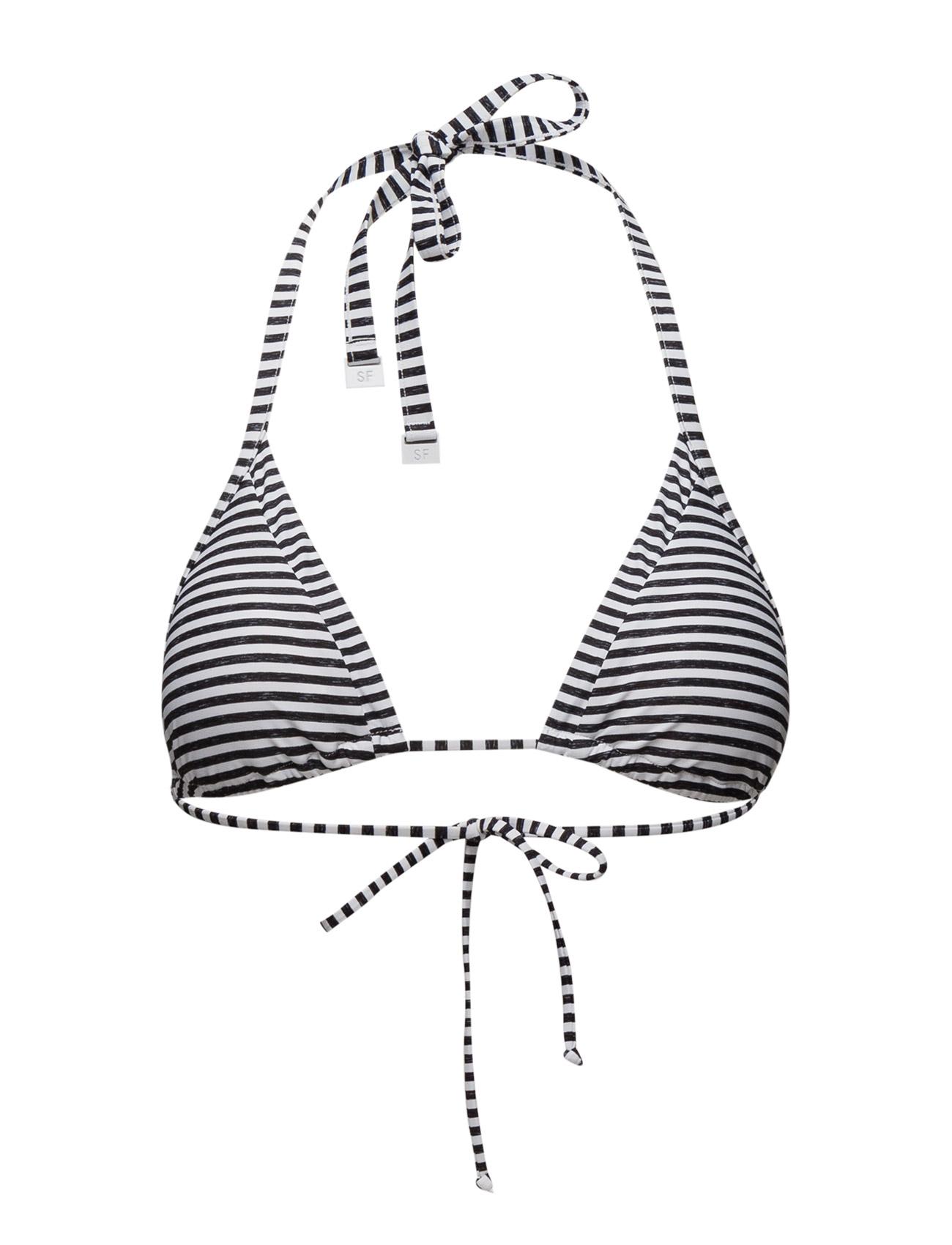 Riviera Stripe Slide Tri Seafolly Bikinier til Damer i