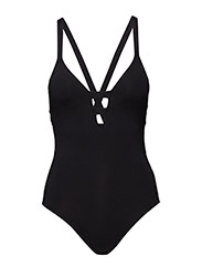 "Active Deep ""V"" Maillot - BLACK"