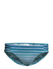MiamiStripe Ruched Side Retro - Seychelles