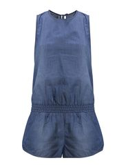 Detention Playsuit - Chambray
