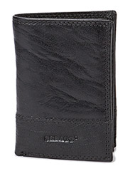 Mens Leather Wallet - Black