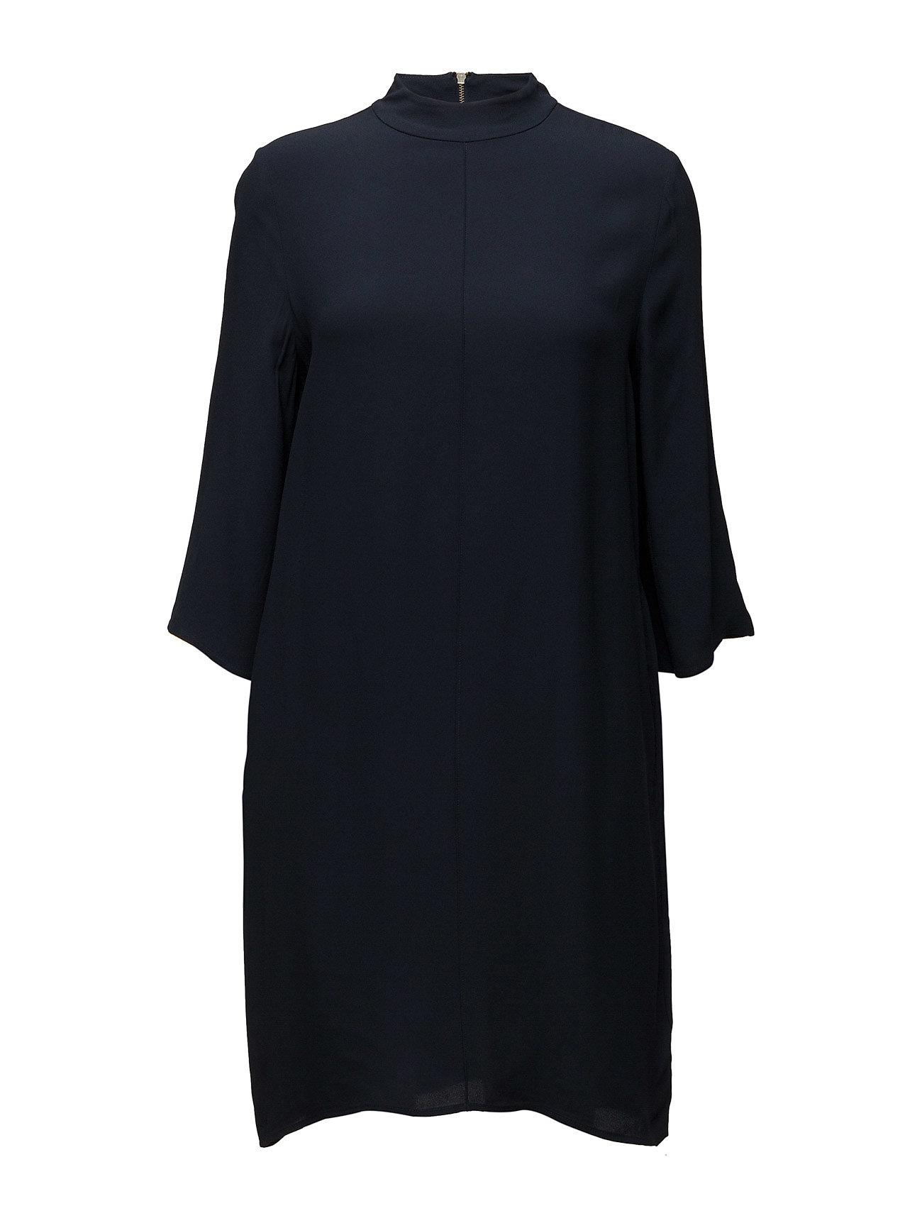 Shake Dress Second Female Korte kjoler til Damer i Navy blå