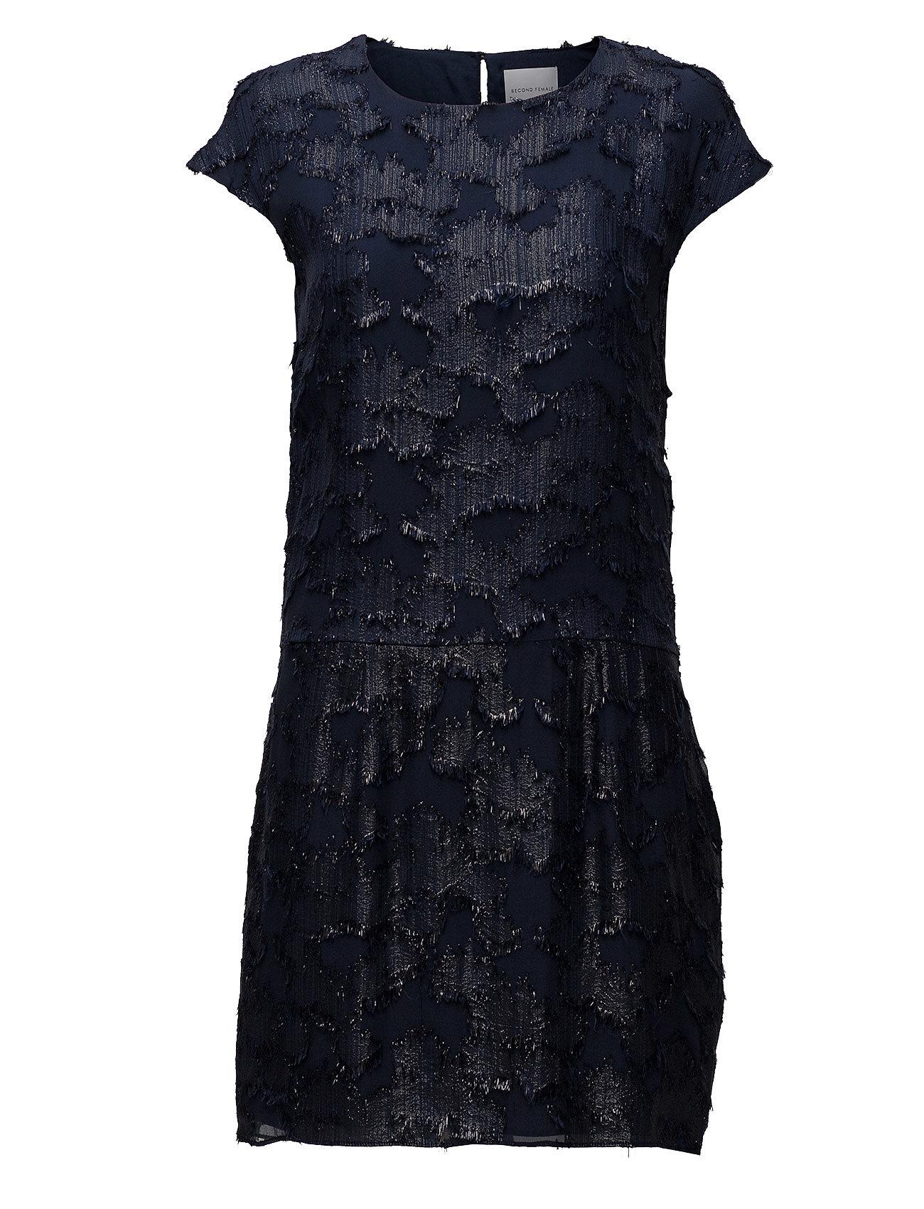 Addalil Dress Second Female Knä Och Medelstora