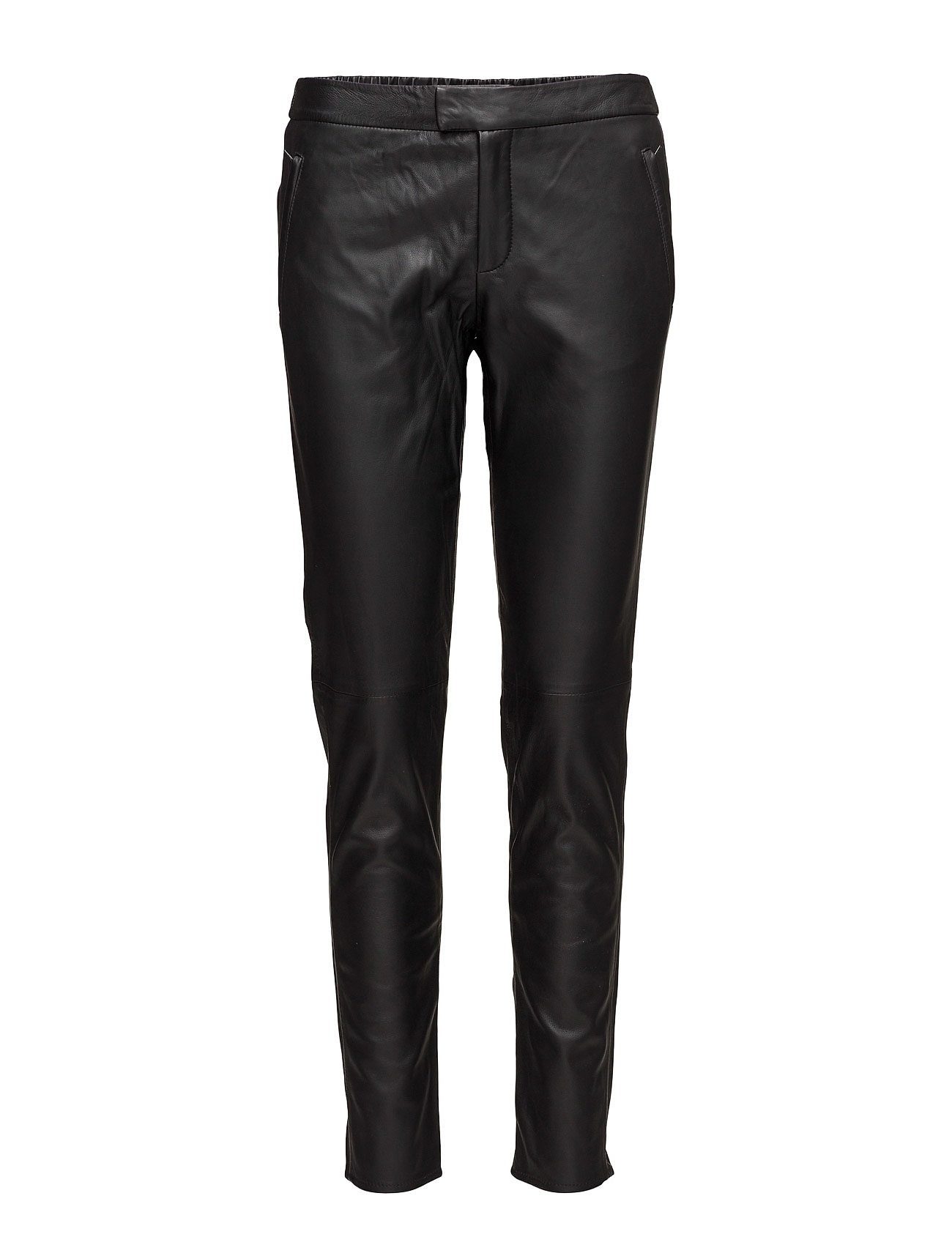 Roberta Zip Leather Trousers thumbnail