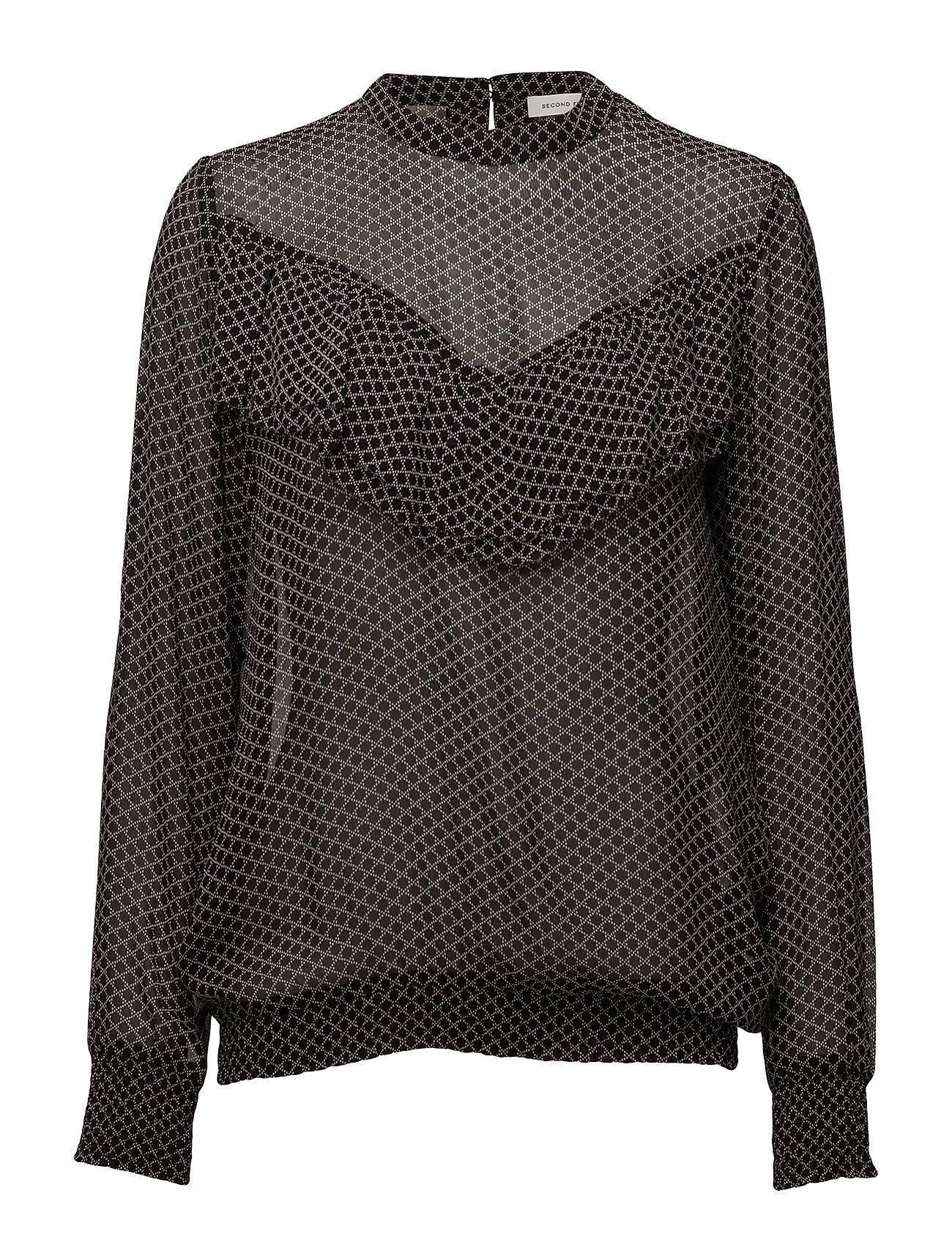 second female Izumi ruffle blouse på boozt.com dk