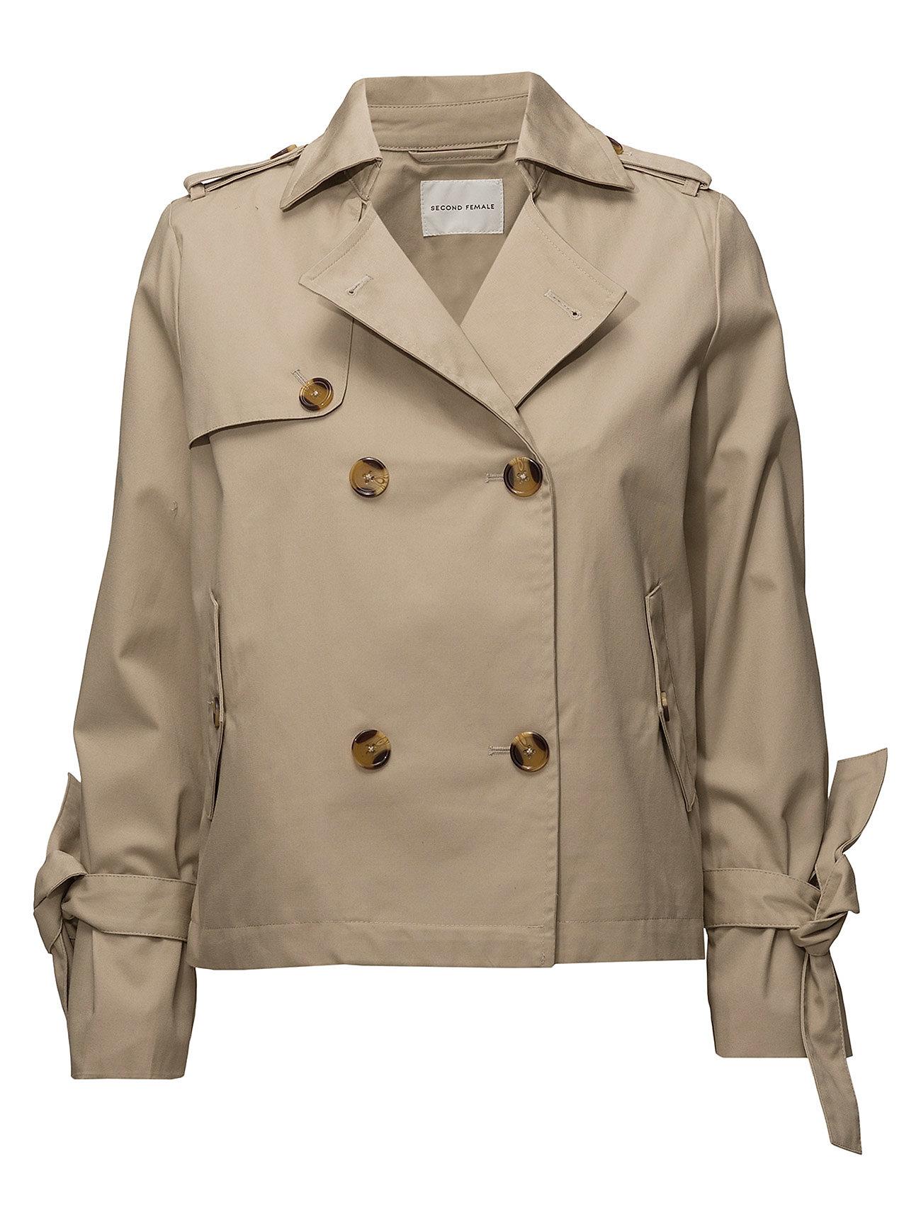 Second Female Vanya Short Trenchcoat