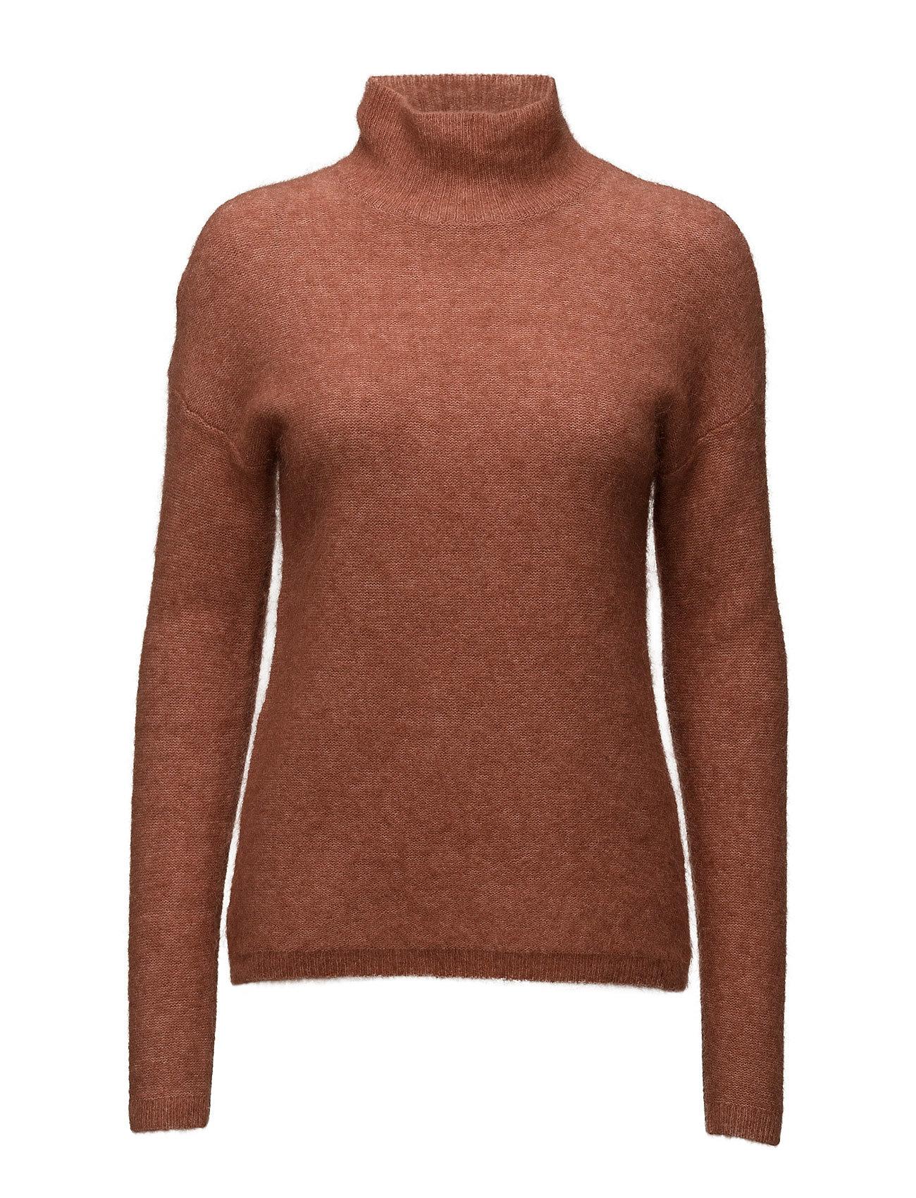 452b1675af3a Bestil Brook Knit Turtle Neck Second Female Højhalsede i Brændt Camel til  Damer i en online fashion store