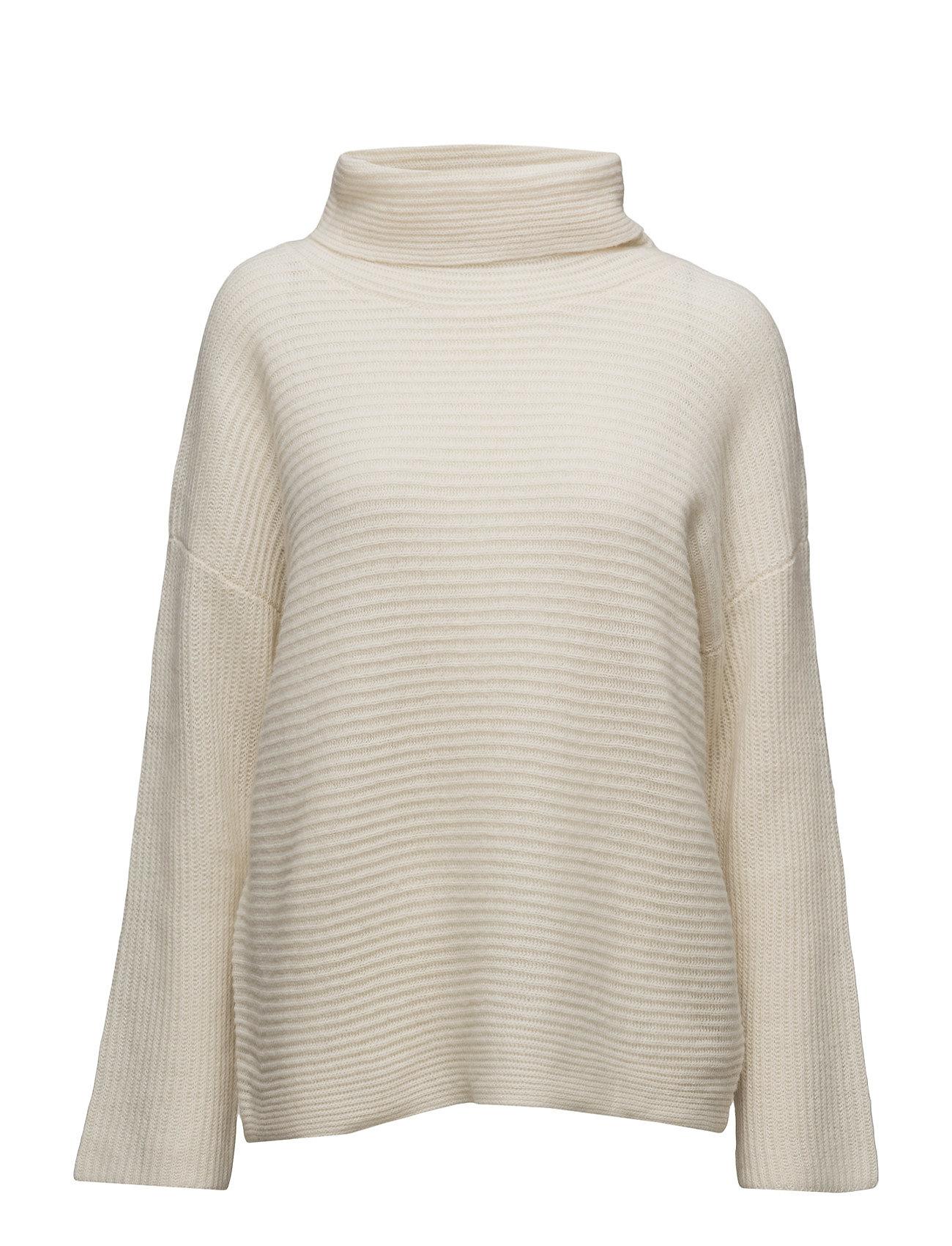 c2c91f0a243 Find Dahl Knit T-Neck Second Female Sweatshirts i Off White til Damer fra  Boozt.dk