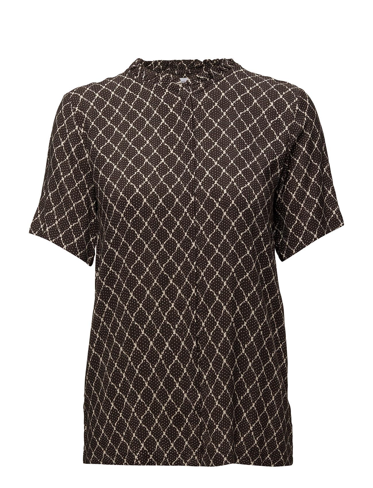 Morning Shirt Second Female Kortærmede til Kvinder i Antracit grå