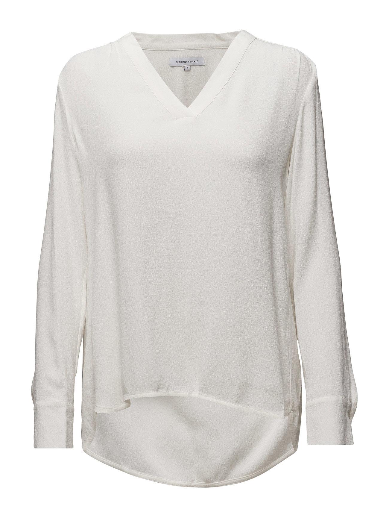 New Condesa Shirt Second Female Langærmede til Kvinder i hvid