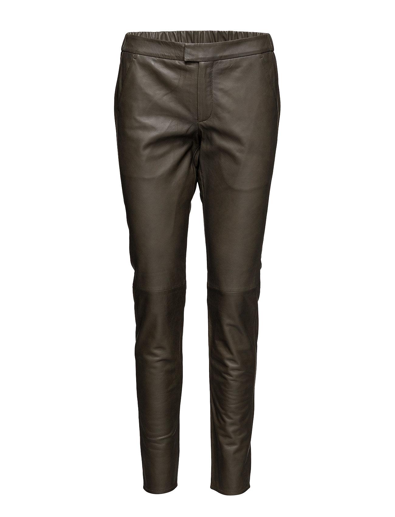 New Roberta Leather Pants Second Female Bukser til Kvinder i