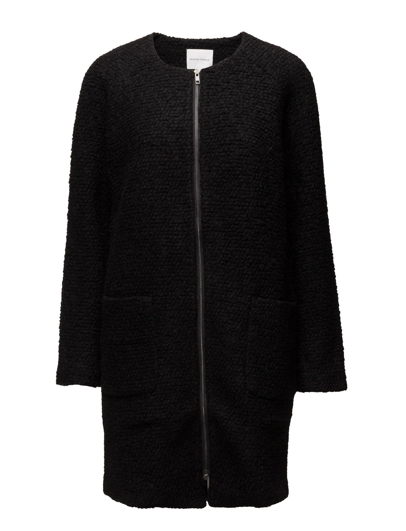 New Annabella Coat Second Female Frakker til Kvinder i Sort