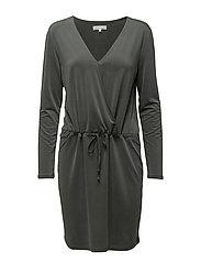 Bee Jersey Dress - CYPRESS