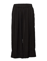 Minga Cropped Trousers - BLACK
