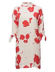 Redstone Dress - SOFT PINK AOP