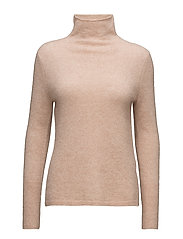 Brook Knit New T-neck - CAMEO ROSE