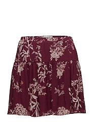 Wilma Skirt - POMEGRANATE