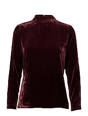 Muja Blouse T-neck - PORT ROYALE