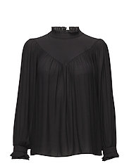 Delilah Blouse - BLACK