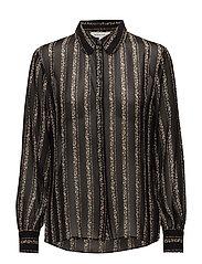 Garda Plain Shirt - BLACK
