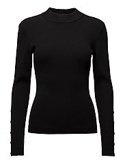 Kokia Knit O-neck - Black