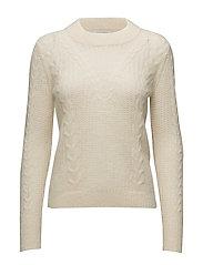 Emilie Knit O-neck - Off white
