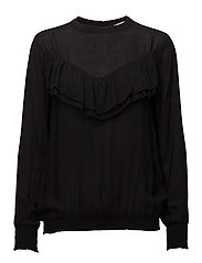 Liva Blouse - BLACK