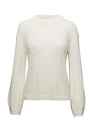 Mo Knit O-neck - Off white