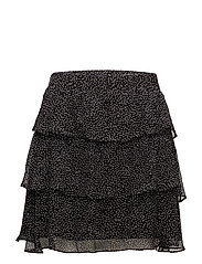 Rebecca Skirt - Black color artwork