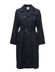 Valdi Coat - Navy