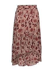 Bohemia Skirt - Cameo Rose