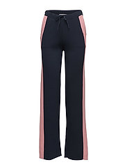 Nili Knit Wide Trousers - Navy
