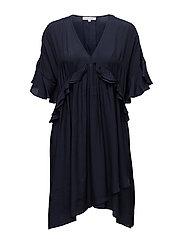 Abeline Dress - NAVY