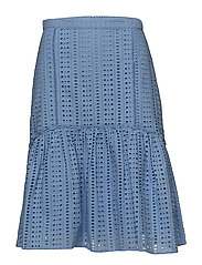 Jacklin HW Skirt - ROBBIA BLUE