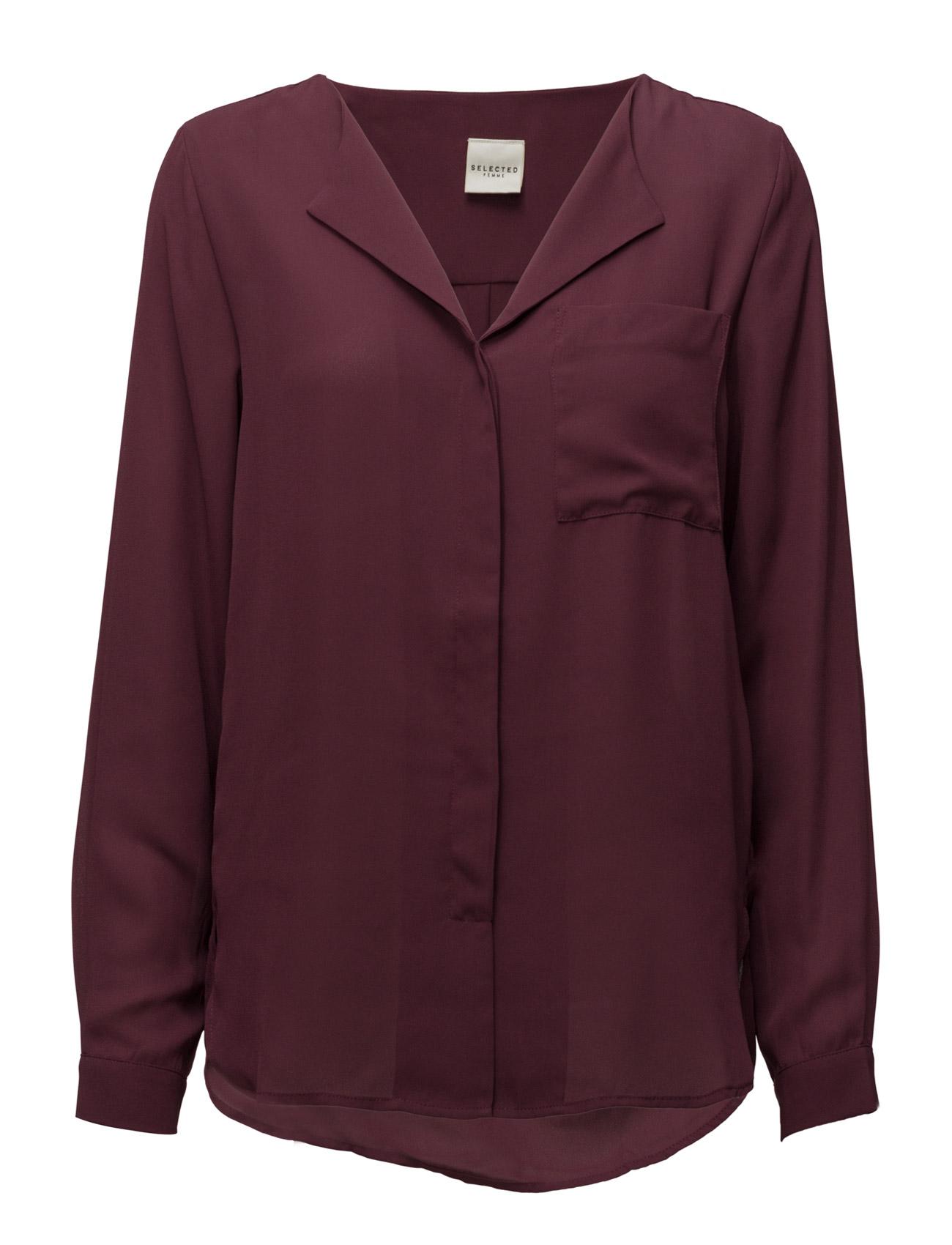 Sfdynella Ls Shirt F Noos Selected Femme Langærmede til Damer i