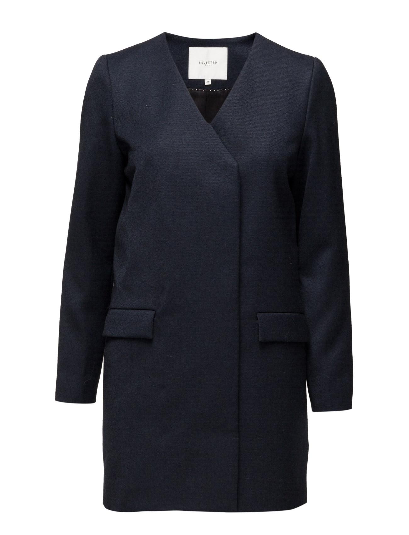 Sfceda Ls Coat H Selected Femme Uld Frakker