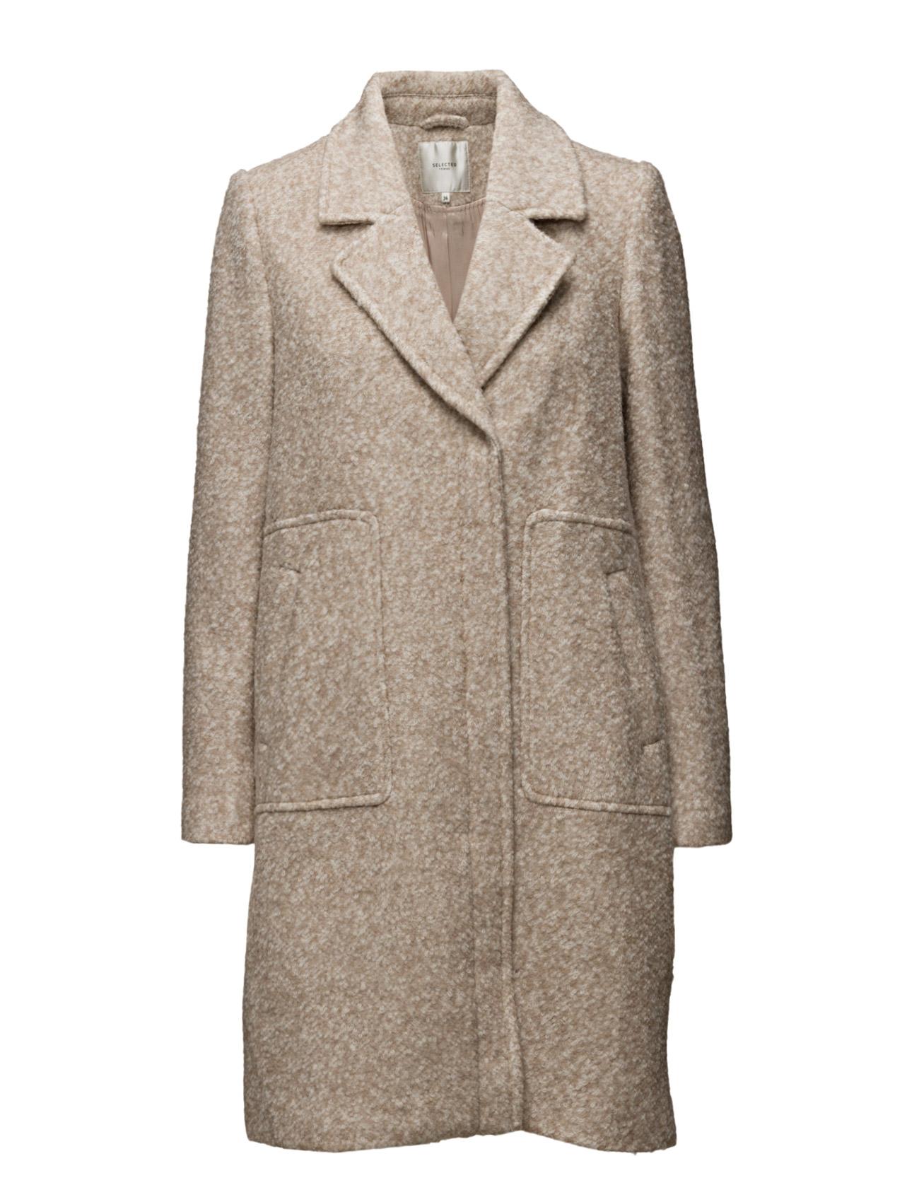 Sfclara Ls Coat H Selected Femme Frakker til Damer i
