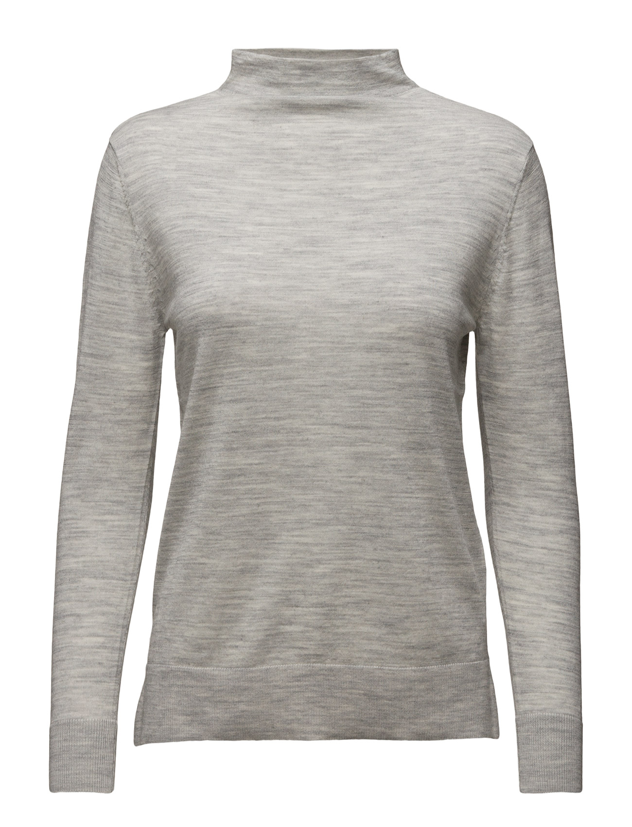 Sfmero New Ls Knit T-Neck Pullover Selected Femme Højhalsede til Damer i