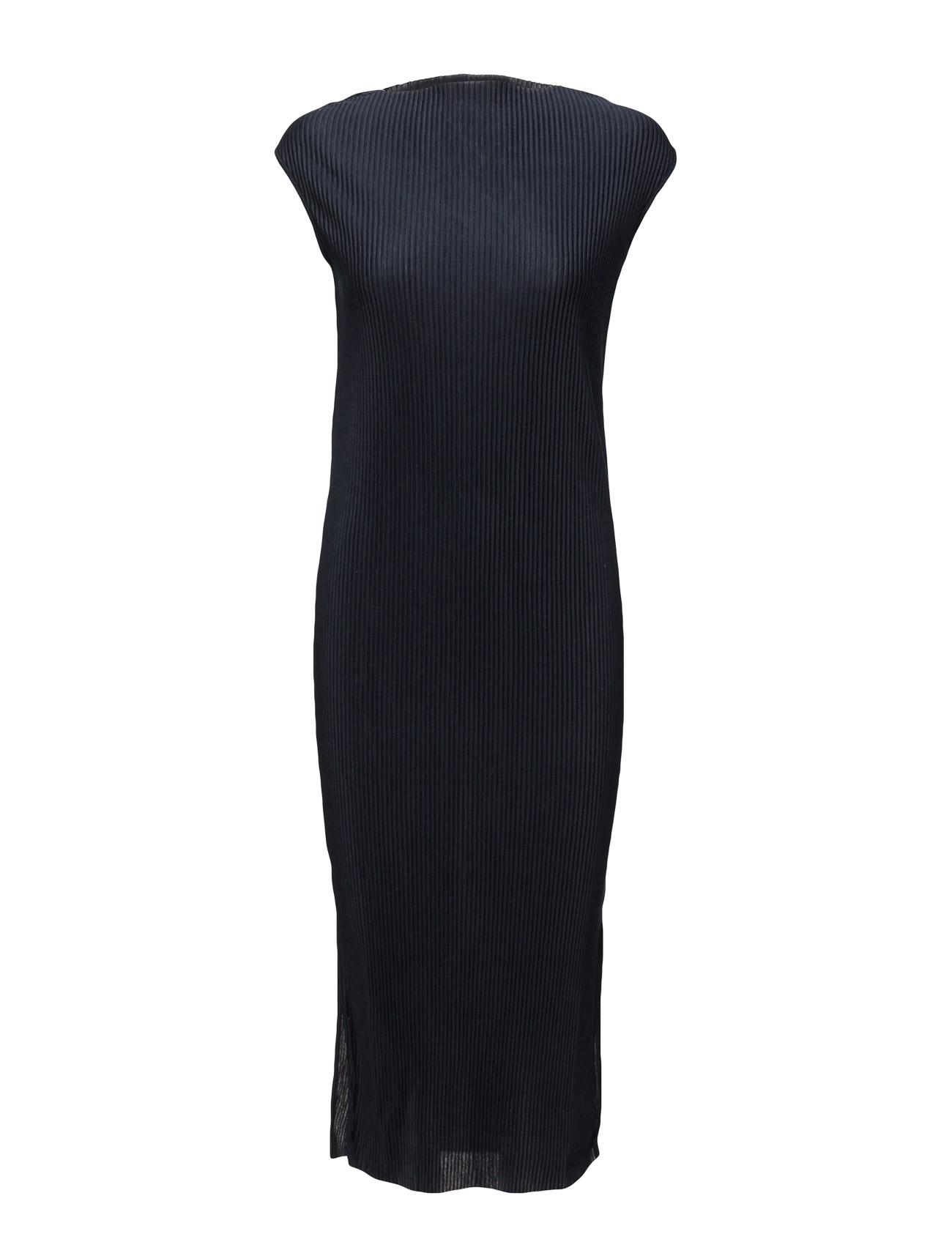 Sfkeba Sl Dress Selected Femme Knælange & mellemlange til Kvinder i Navy Blazer